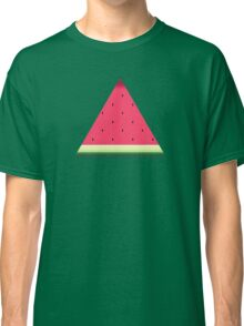 Watermelon // Graphic Fruit Pattern Classic T-Shirt