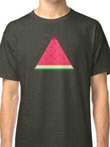 Watermelon // Graphic Fruit Pattern Classic T-Shirt