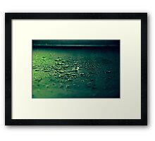 The Water Ball Framed Print