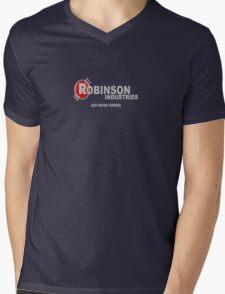 Robinson industries Mens V-Neck T-Shirt