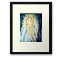 Sometimes I don´t know who I really am Framed Print