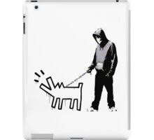 banksy - choose your weapon iPad Case/Skin