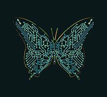 Mechanical Butterfly by Budi Kwan