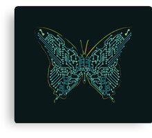 Mechanical Butterfly Canvas Print