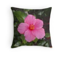 Pink Pleasure Throw Pillow