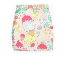 Ice & Cream  Mini Skirt