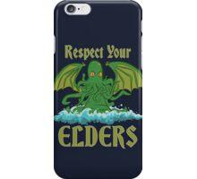 Respect Your Elders iPhone Case/Skin