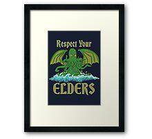 Respect Your Elders Framed Print
