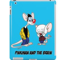 Pinkman and The Brain - Pinkman and Walter - Breaking Bad Parody - Pinky and the Brain Parody iPad Case/Skin