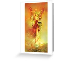 ANGEL OF ABUNDANCE (FORTUNA) Greeting Card