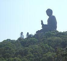 Tian Tan Buddha by Marcus Lywood
