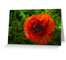 Poppy - Vibrant, Bold and Cheerful Greeting Card