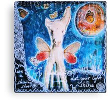 You are a shining star 2 Canvas Print