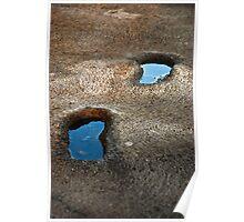 Footprints pools Poster