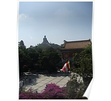 Ngong Ping Buddha gardens Poster
