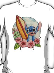 Surfing Stitch and Scrump T-Shirt