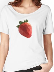 Polygon Strawberry Women's Relaxed Fit T-Shirt