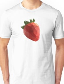 Polygon Strawberry Unisex T-Shirt