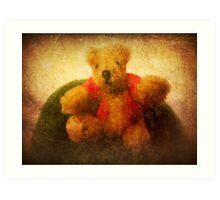 Pooh bear Art Print