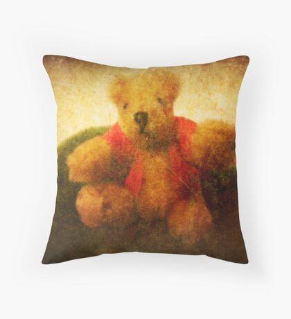 Pooh bear Throw Pillow