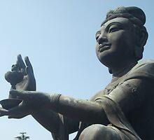 Bhuddistic Statue, Tian Tan by Marcus Lywood
