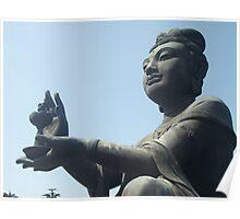 Bhuddistic Statue, Tian Tan Poster