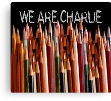 WE ARE CHARLIE Canvas Print