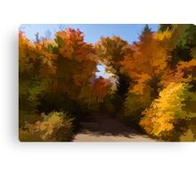 Sunny, Warm and Colorful - Autumn Impressions Canvas Print