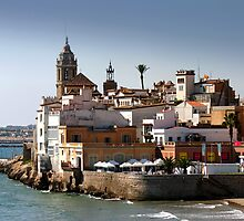 Sitges Skyline by SmoothBreeze7