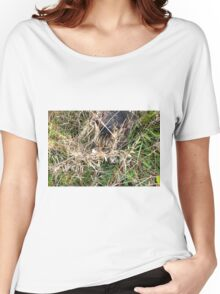 He Will Never See Me Here Women's Relaxed Fit T-Shirt