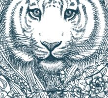 Tiger Tangle Sticker