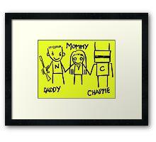 Die Antwoord Chappie Framed Print