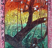"Van Gogh's Copie ""Japonaiserie: Trees in Bloom"" par Moi by * RoyAllenHunt *"