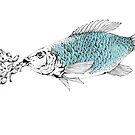 Mama-fish by Yulja Blucher