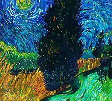 My inspiration: Van Gogh by Veena  Gupta