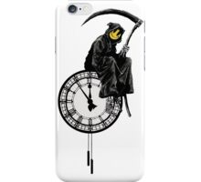 banksy - grin reaper iPhone Case/Skin