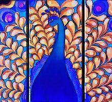 Peacock by Veena  Gupta
