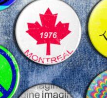 denim pocket Sticker