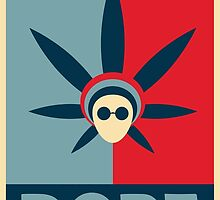 DOPE Obama Poster Design by tshirtdesign