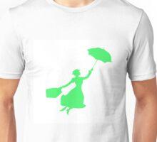 Green Miss Poppins  Unisex T-Shirt