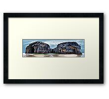 From Nuns' to Ladies Strand - Ballybunion Framed Print