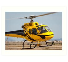 Eurocopter AS350 B2 AStar Art Print