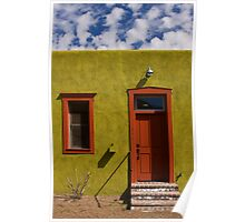 Arizona home under Arizona Sky Poster
