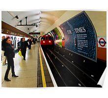 Charing Cross Underground Poster