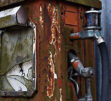 Rusty Fuel Pump by Neil Hastings