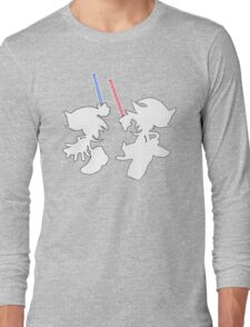 Hedgehogs with lightsabers  Long Sleeve T-Shirt