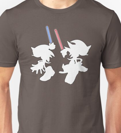 Hedgehogs with lightsabers  Unisex T-Shirt