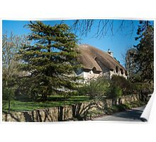 Thatch Cottage South Wales Poster