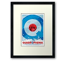 Quadrophenia - Movie Poster Framed Print