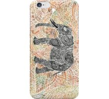 Tribal Paisley Elephant Colorful Henna Pattern iPhone Case/Skin